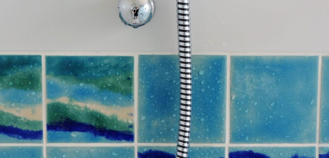 Hand made Persian Glazes Ripple tiles