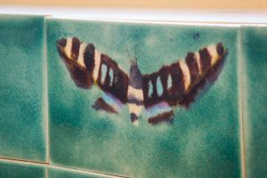 Moth by Jaafar Designs in the kitchen of The Treehouse